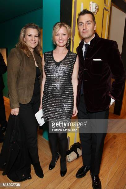 Krista Smith Gretchen Mol and Euan Rellie attend Anthropologie Hosts US Book Launch of BLOW BY BLOW at Anthropologie at Rockefeller Center on...