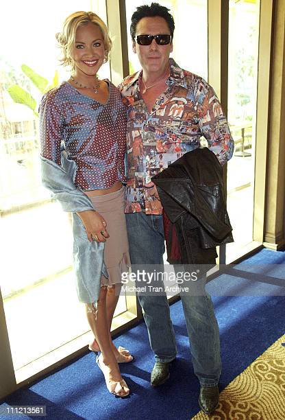 Kristanna Loken and Michael Madsen during 'Bloodrayne' AFM Press Conference November 2 2005 at Loews Hotel in Santa Monica California United States