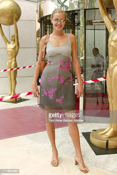 Kristanna Loken during 2003 Monte Carlo World Music Awards Rehearsal Arrivals at Monte Carlo Sporting Club in Monte Carlo Monaco
