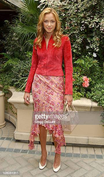 Kristanna Loken during 9th Annual Premiere Magazine 'Women In Hollywood' Luncheon at The Four Seasons Hotel in Beverly Hills California United States