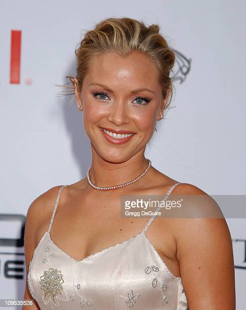 Kristanna Loken during 'T3 Rise Of The Machines' Video Game Launch Party at Raleigh Studios in Hollywood California United States