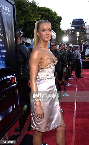 Kristanna Loken during 'Terminator 3 Rise of the Machines' Los Angeles Premiere Red Carpet at Mann Village in Westwood California United States