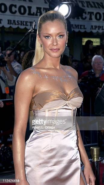 Kristanna Loken during 'Terminator 3 Rise of the Machines' Los Angeles Premiere at Mann Village Theatre in Westwood California United States