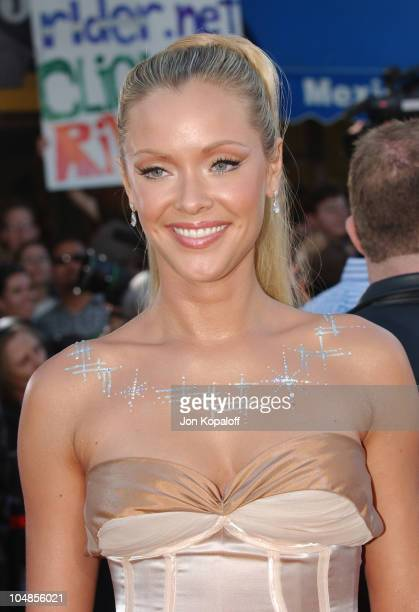 Kristanna Loken during 'Terminator 3 Rise of the Machines' World Premiere at Mann Bruin in Los Angeles California United States
