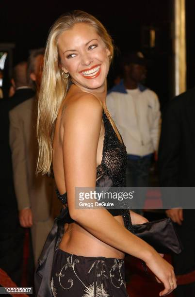 Kristanna Loken during 'The Matrix Revolutions' Premiere at Disney Concert Hall in Los Angeles California United States