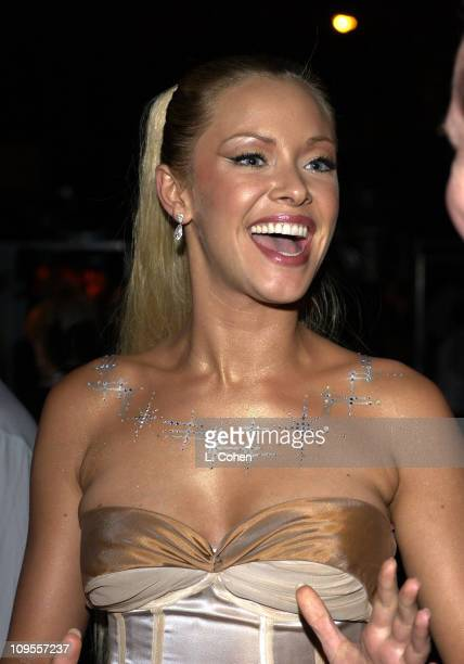 Kristanna Loken during World Premiere of 'Terminator 3 Rise Of The Machines' After Party at Wadsworth Theater in Westwood California United States