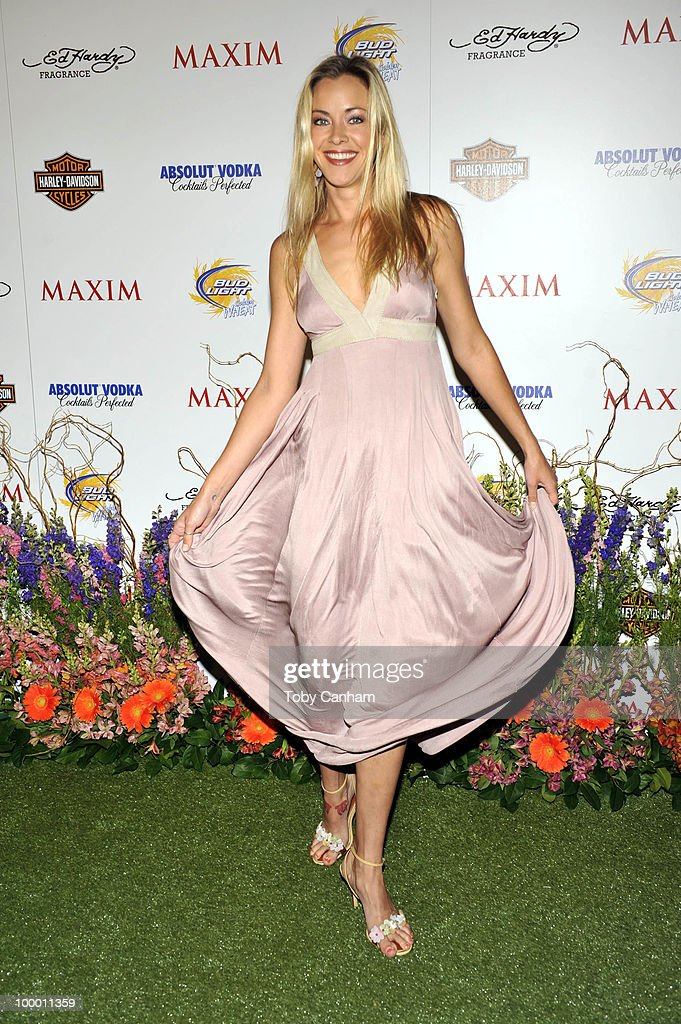 Kristanna Loken poses for a picture at the 11th Annual Maxim Hot 100 Party on May 19, 2010 in Los Angeles, California.