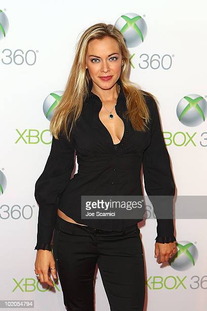 Kristanna Luken arrives to the World Premiere Of 'Project Natal' For Xbox 360 at Galen Center on June 13 2010 in Los Angeles California