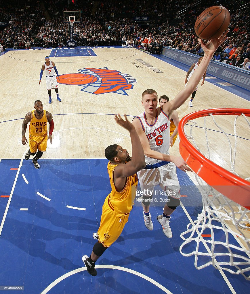 Cleveland cavaliers v new york knicks getty images for New york knicks madison square garden