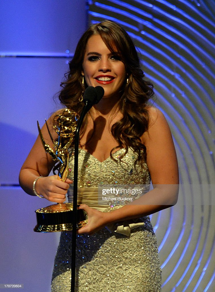 <a gi-track='captionPersonalityLinkClicked' href=/galleries/search?phrase=Kristen+Alderson&family=editorial&specificpeople=4168385 ng-click='$event.stopPropagation()'>Kristen Alderson</a> accepts the Outstanding Younger Actress in a Drama Series award for 'General Hospital' onstage during the 40th Annual Daytime Emmy Awards at the Beverly Hilton Hotel on June 16, 2013 in Beverly Hills, California. 23774_001_2556.JPG
