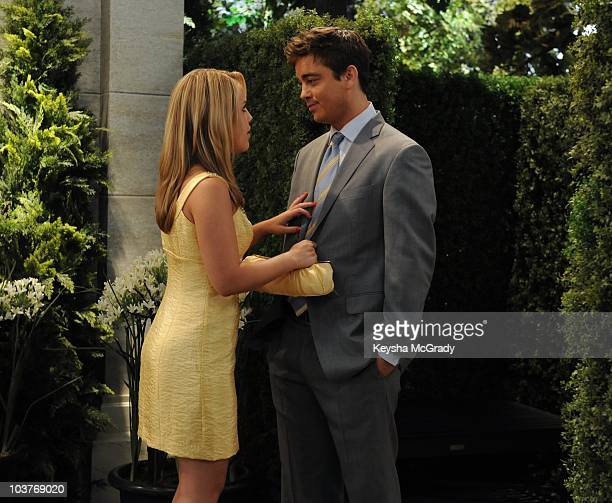 LIVE Kristen Alderson and Brandon Buddy in a scene that begins airing the week of August 23 2010 on ABC Daytime's 'One Life to Live' 'One Life to...