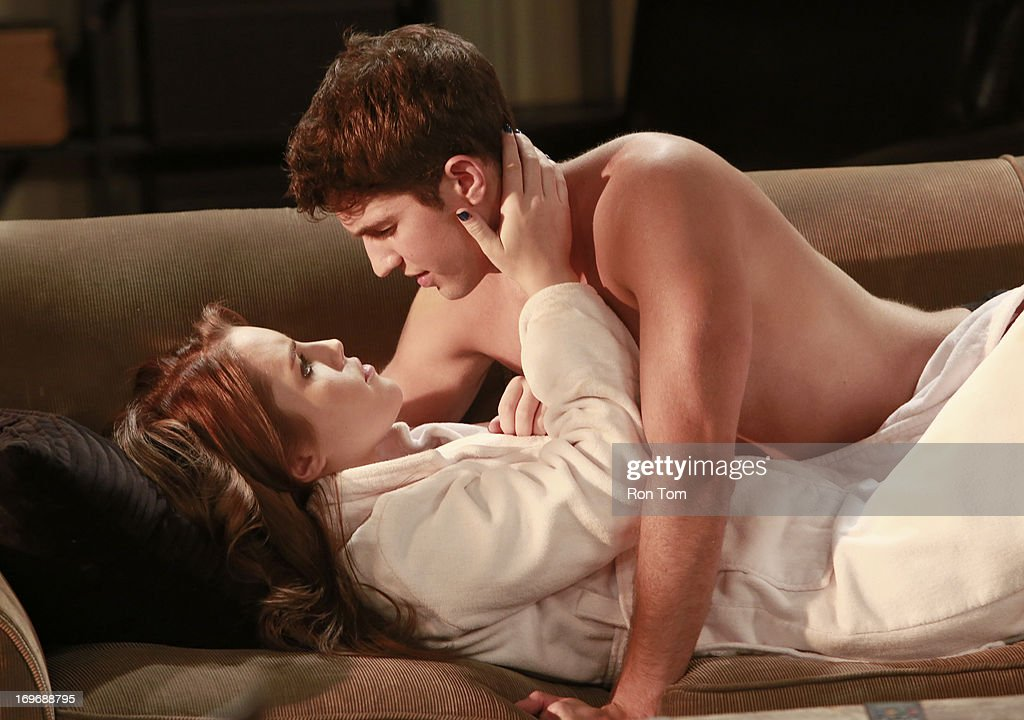 HOSPITAL - Kristen Alderson (Lauren Frank) and Bryan Craig (Morgan) in a scene that airs the week of May 27, 2013 on ABC's 'General Hospital.' 'General Hospital' airs Monday-Friday (2:00 p.m. - 3:00 p.m., ET) on the ABC Television Network. GH13 KRISTEN