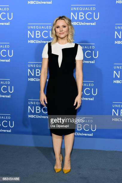 Kristen Bell attends the 2017 NBCUniversal Upfront at Radio City Music Hall on May 15 2017 in New York City