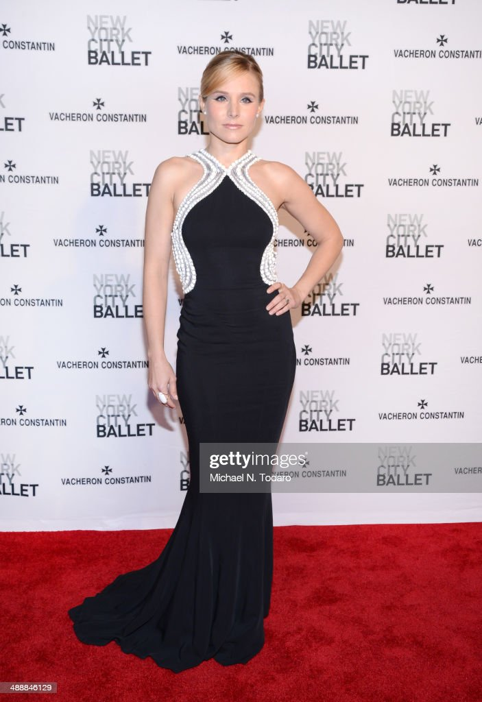Kristen Bell attends the New York City Ballet 2014 Spring Gala at David H Koch Theater Lincoln Center on May 8 2014 in New York City