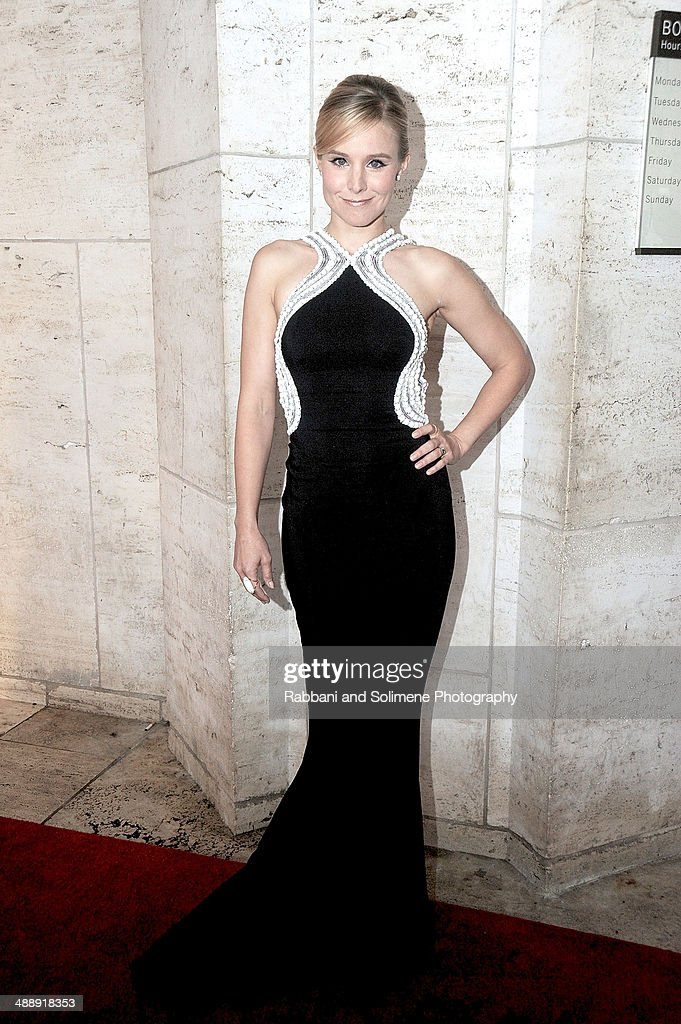 <a gi-track='captionPersonalityLinkClicked' href=/galleries/search?phrase=Kristen+Bell&family=editorial&specificpeople=194764 ng-click='$event.stopPropagation()'>Kristen Bell</a> attends the New York City Ballet 2014 Spring Gala at David H. Koch Theater, Lincoln Center on May 8, 2014 in New York City.
