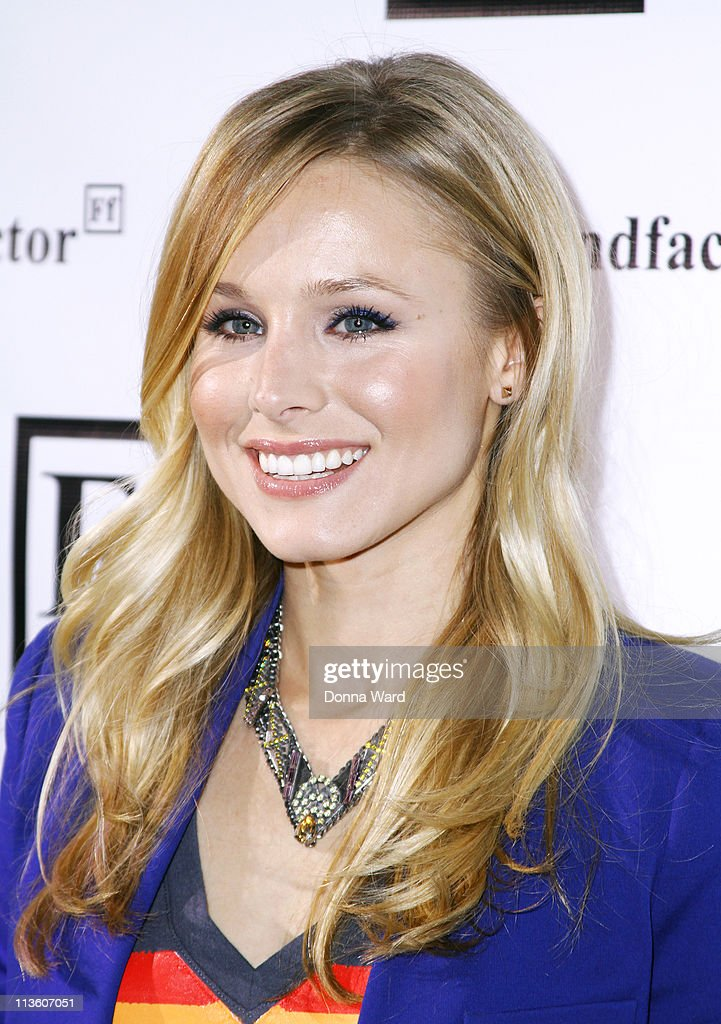 Kristen Bell attends the New York launch of Friendfactor at Lavo on May 3, 2011 in New York City.