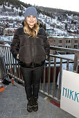 Kristen Bell attends the Nikki Beach popup lounge restaurant at Sundance on January 20 2013 in Park City Utah
