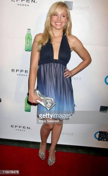 Kristen Bell during LA Film Festival 'What We Do Is Secret' Premiere After Party at Element in Hollywood CA United States