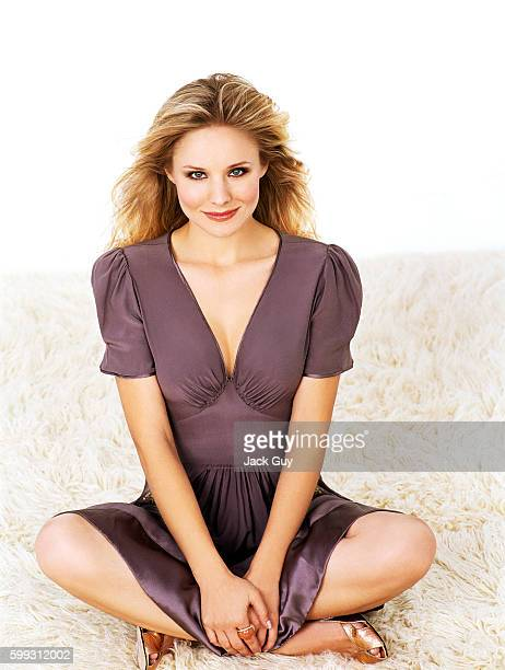 Kristen Bell is photographed for OK Magazine in 2006 in Los Angeles California