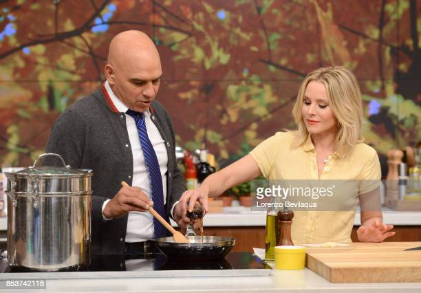 THE CHEW Kristen Bell is the guest Monday September 25 2017 on ABC's 'The Chew' 'The Chew' airs MONDAY FRIDAY on the ABC Television Network BELL