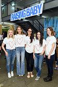 Kristen Bell Jessica Alba Jordana Brewster Rachel Bilson and Rosemarie DeWitt attend Alliance of Moms Presents Raising Baby on September 26 2015 in...