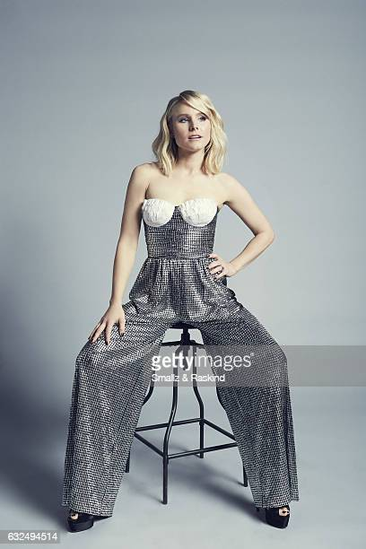 Kristen Bell poses for a portrait at the 2017 People's Choice Awards at the Microsoft Theater on January 18 2017 in Los Angeles California