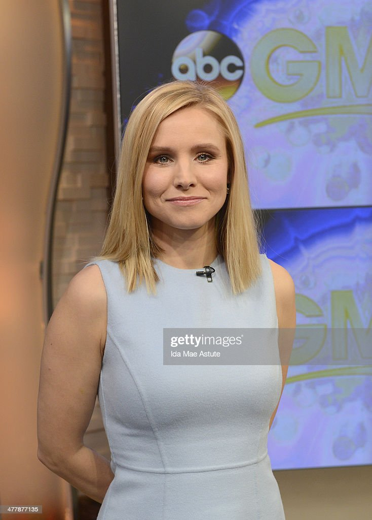 AMERICA Kristen Bell talks about her new role in 'Veronica Mars' on GOOD MORNING AMERICA 3/10/14 airing on the ABC Television Network KRISTEN