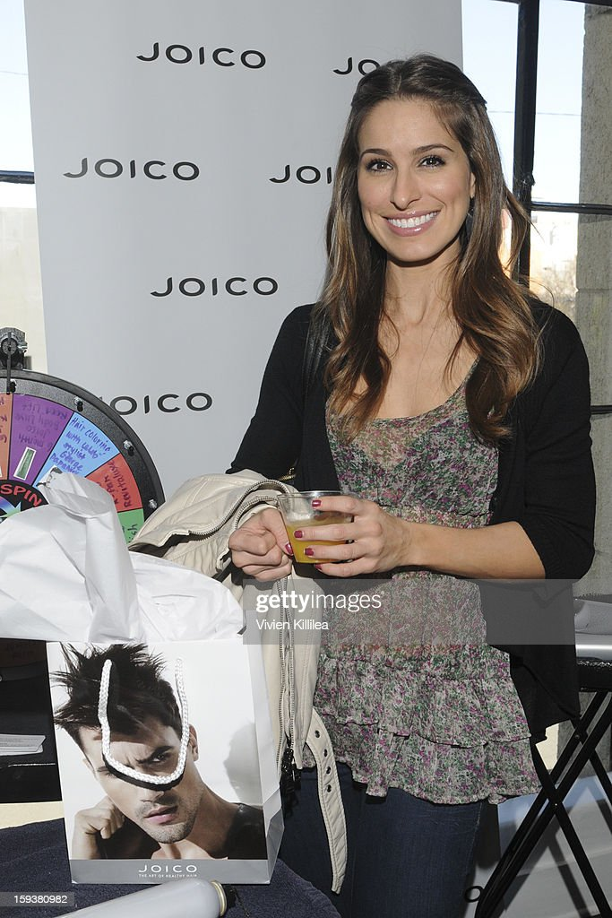 Kristen Brockman attends Turning Heads With Joico Hair Care At Colgate's Pre Golden Globe Beauty Bar on January 12, 2013 in West Hollywood, California.