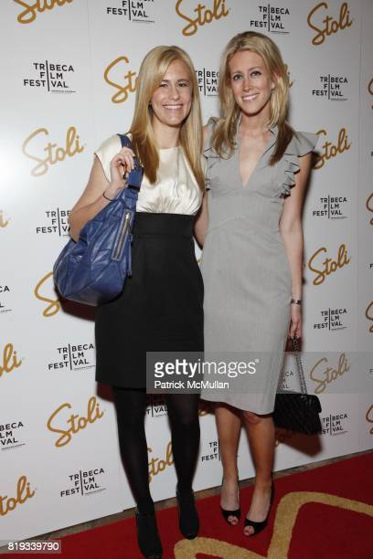 Kristen Cargill and Amy Nolan attend STOLI Presents DARREN ARONOFSKY With the Inaugural Stoli Film Pioneer Award at Tribeca Grand Hotel on April 26...