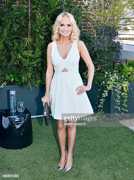 Kristen Chenoweth attends the Kristen Chenoweth Social Life Magazine Cover Party Celebration at 53 Greene Street on July 13 2015 in New York City