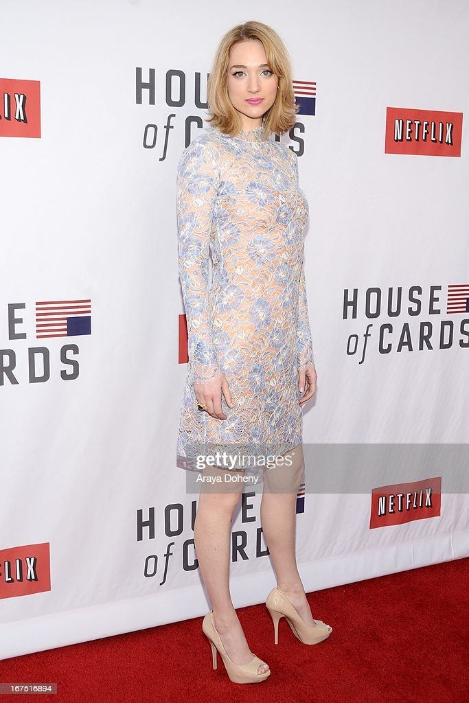 Kristen Connolly arrives at the Netflix's 'House Of Cards' for your consideration Q&A event at Leonard H. Goldenson Theatre on April 25, 2013 in North Hollywood, California.