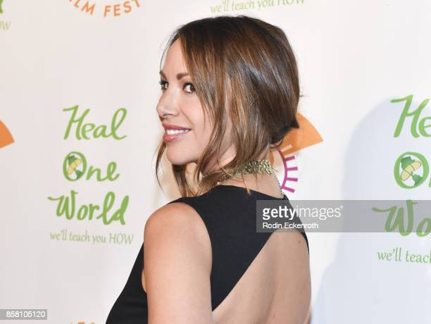 Kristen Doute attends the 2017 Awareness Film Festival Opening Night Premiere of 'The Road to Yulin and Beyond' at Regal LA Live Stadium 14 on...