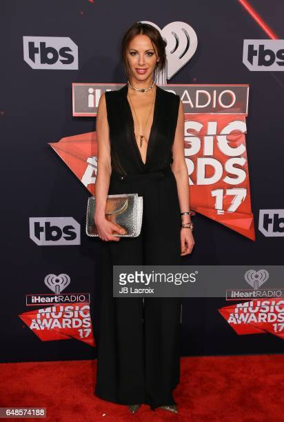 Kristen Doute attends the 2017 iHeartRadio Music Awards at The Forum on March 5 2017 in Inglewood California