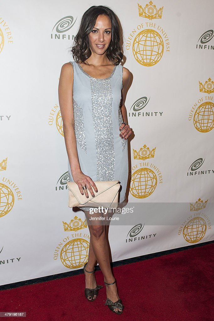 Kristen Doute attends the Queen Of The Universe International Beauty Pageant hosted at the Saban Theatre on March 16, 2014 in Beverly Hills, California.