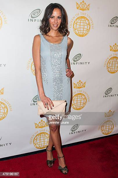 Kristen Doute attends the Queen Of The Universe International Beauty Pageant hosted at the Saban Theatre on March 16 2014 in Beverly Hills California