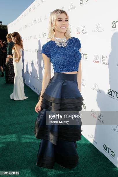 Kristen Hancher at the Environmental Media Association's 27th Annual EMA Awards at Barkar Hangar on September 23 2017 in Santa Monica California
