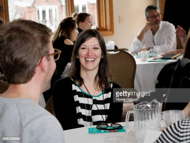 Kristen Kee attends the 2017 Aspen Shortsfest filmmakers breakout sessions on April 7 2017 at Mountain Chalet in Aspen Colorado