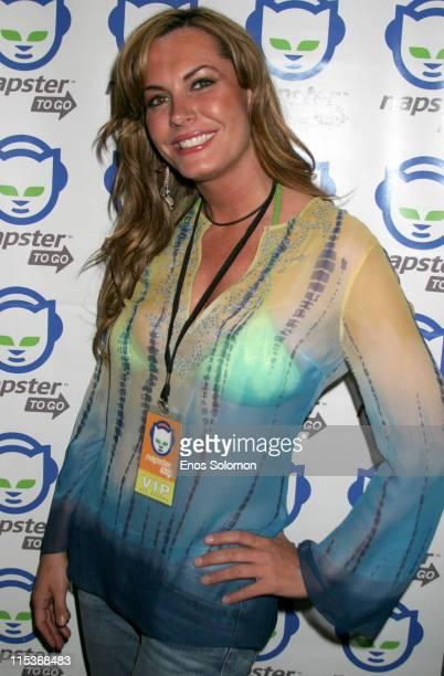 Kristen Kirchner during Napster To Go Cafe Comes to Los Angeles with Free Digital Music and MP3 Player Giveaways at Mel's DriveIn in West Hollywood...