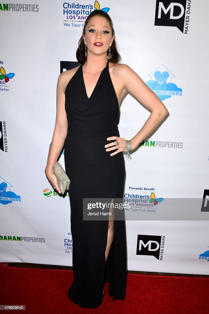 Kristen Ranton arrives at the Dream Builders Project's 'A Brighter Future For Children' benefit at H.O.M.E. on March 15, 2014 in Beverly Hills, California.