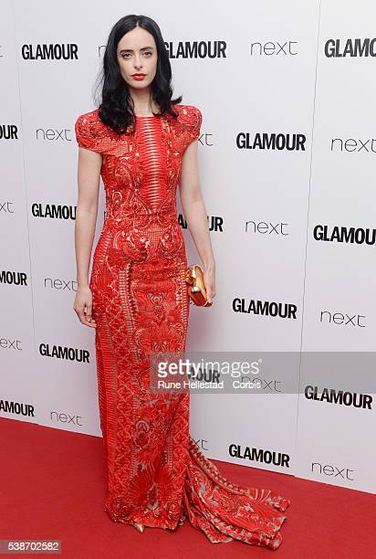 Kristen Ritter attends the Glamour Women Of The Year Awards at Berkeley Square Gardens on June 7 2016 in London England