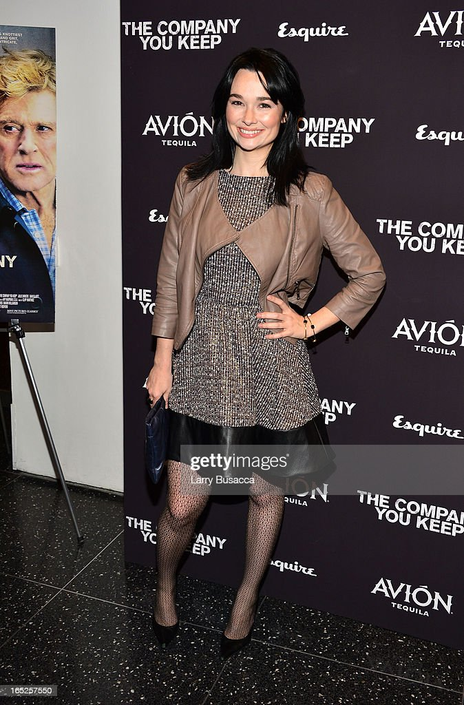 Kristen Ruhlin attends 'The Company You Keep' New York Premiere at The Museum of Modern Art on April 1, 2013 in New York City.