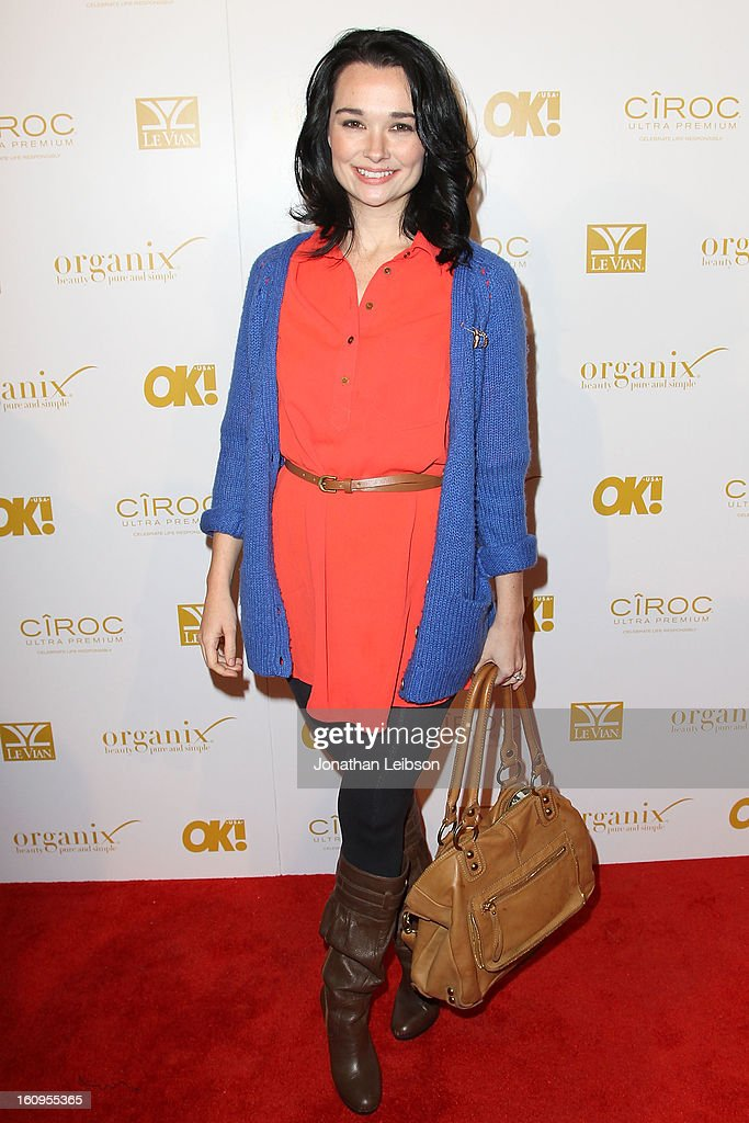 Kristen Ruhlin attends the OK! Magazine Pre-GRAMMY Party at Sound on February 7, 2013 in Hollywood, California.