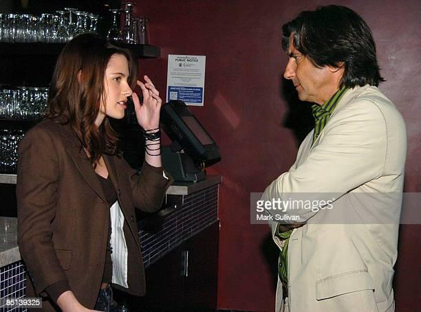 Kristen Stewart and Griffin Dunne director