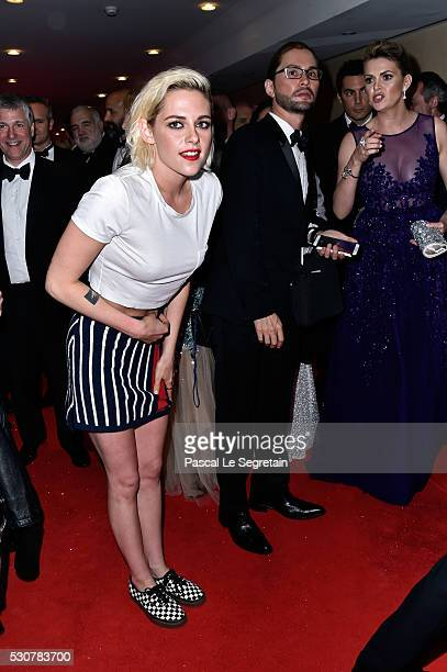 Kristen Stewart arrives at the Opening Gala Dinner during The 69th Annual Cannes Film Festival on May 11 2016 in Cannes France