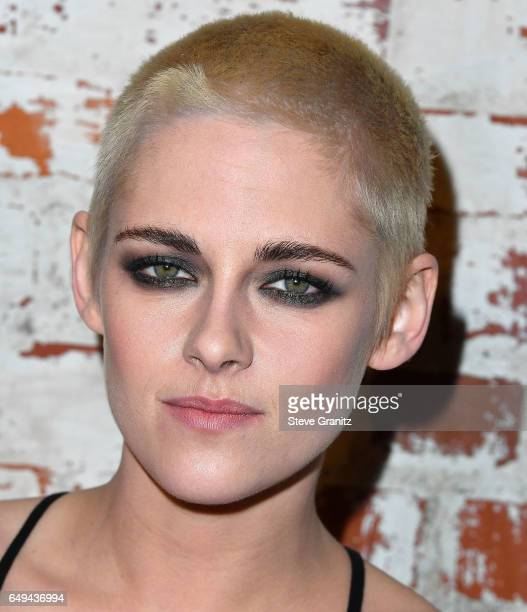 Kristen Stewart arrives at the Premiere Of IFC Films' 'Personal Shopper' at The Carondelet House on March 7 2017 in Los Angeles California