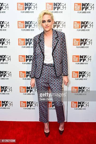 Kristen Stewart at 54th New York Film Festival An Evening with Kristen Stewart at Stanley Kaplan Penthouse on October 5 2016 in New York City