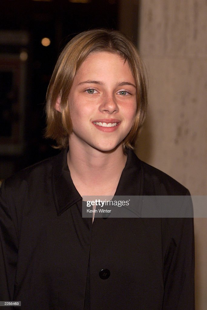 Kristen Stewart at the premiere of 'Panic Room' at the Loews Century Plaza Theater in Los Angeles, Ca. Monday, March 18, 2002. Photo by Kevin Winter/Getty Images.