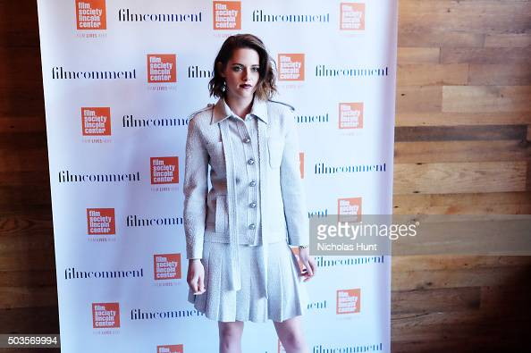 Kristen Stewart attend the 2016 Film Society Of Lincoln Center Luncheon at Scarpetta on January 5 2016 in New York City