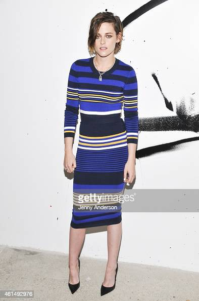 Kristen Stewart attends AOL's BUILD Speaker Series at AOL Studios in New York on January 13 2015 in New York City