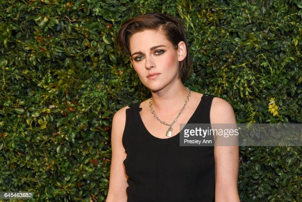 Kristen Stewart attends Charles Finch and CHANEL PreOscar Awards Dinner at Madeo Restaurant on February 25 2017 in Los Angeles California